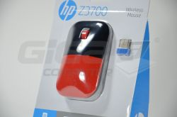 HP Z3700 Wireless Mouse - Cardinal Red  - Fotka 3/3