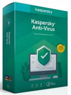 Kaspersky Anti-Virus CZ, 1PC, 1 rok, nová licence, box